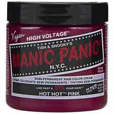 Manic Panic Semi-Permanent Hair Color Cream, Hot Hot Pink 4 oz