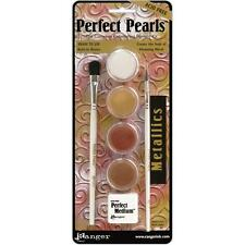 METALLICS Perfect Pearls 4-Color Pigment Set - Ranger
