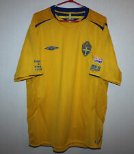Sweden National Team special match shirt jersey 2005 Umbro vs Hungary