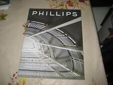 PHILLIPS CATALOGUE DESIGNS BY ARCHITECT CREATED LEE MINDAL APR14 AALTO PROUVE ++