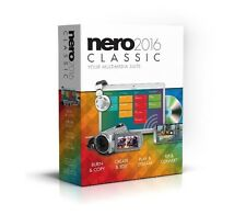 Nero 2016 Classic Multi-Media Suite - Boxed Version New