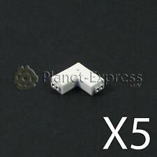 """5 x Conector union en ele """"L"""" de 2 tira led con 2 pines. Tiras SMD 5050 3528..."""