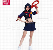 Kill la Kill Matoi Ryuko Senketsu Sailor Uniform Cosplay Costume pre made