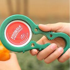 Multi Purpose Flexible Lid Jar Bottle Can Cap Opener Remover Kitchen Twist Tool