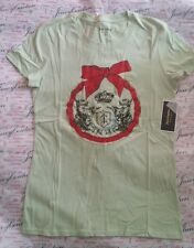 Juicy Couture Holiday Bow Top new Small