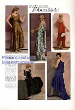 The special evening dress photo illustration 1929 von Gallé Kuschnitzky xc +