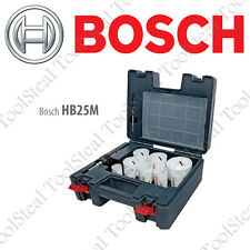 Bosch HB25M 25 Piece Quick Change Bi-Metal STP Master Hole Saw Set With Warranty