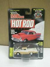 RACING CHAMPIONS- HOT ROD MAG #44- '57 FORD RANCHERO- 1/55TH SCALE- NEW- TC3