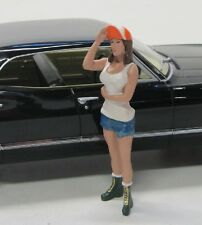 Figur ( Hot Rodder Nancy ) American Diorama 1:18