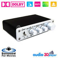 HiFi Dolby Surround Audio Processor USB DAC Preamp ASIO Sound Card Headphone amp
