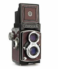 Yashica C Replacement Cover - Laser Cut Recycled Leather - Moroccan