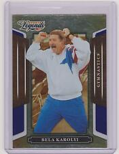 RARE 2008 DONRUSS LEGENDS BELA KAROLYI BLUE PARALLEL OLYMPIC CARD #93 ~ /100