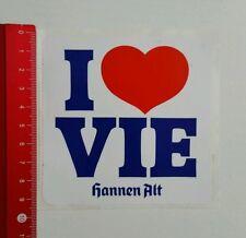 Aufkleber/Sticker: hannen alt - I love VIE (2505162)