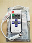 Mini RF Wireless Remote Switch Controller Dimmer for LED Strip w/ DC Connectors