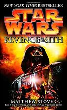 STAR WARS REVENGE OF THE SITH (mm, pb) by Matthew Stover NEW
