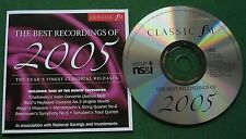 Classic FM The Best Recordings of 2005 inc Tchaikovsky Violin Concerto + CD