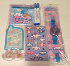 Sanrio Cinnamoroll 6 pc Lot 2003 2007 Magic Color Changing Set Lip Glosses etc