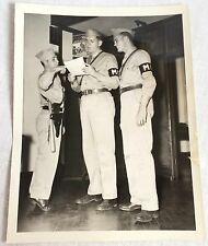 WW2 Military Police 8 x 10 Photo Cleared by Australian Censorship Humorous