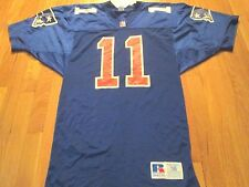 VINTAGE RUSSELL ATHLETIC NFL NEW ENGLAND PATRIOTS DREW BLEDSOE ROOKIE JERSEY 38