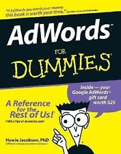AdWords for Dummies by Howie Jacobson (2007, Paperback)