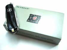 Victorinox Black Cavalier Swiss Army Knife - Discontinued Model - New Old Stock