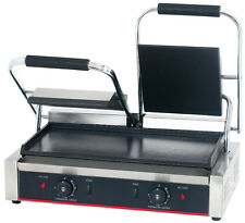 Hakka Commercial Professional Panini Press Grill and Sandwich Griddler TCG813B