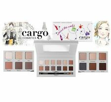 CARGO Around the World Eye Shadow Palette With Dual Ended Brush - NIB - SEALED