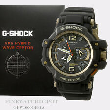 Authentic Casio G-Shock Men's Master of G Gravity Master Watch GPW1000GB-1A