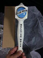 Blue Moon Beer Tap Handle Belgian White New! Bar Pub Man Cave Draft Keg Knob