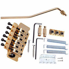 1 Set Gold Tremolo System Double Locking Floyd Rose Guitar Tremolo Bridges