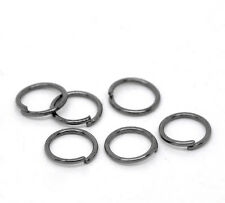Gunmetal Open Jump Rings 7x0.7mm, pack of 1000 SP0193