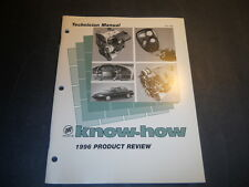 1996 BUICK KNOW HOW 1996 PRODUCT REVIEW TRAINING MANUAL
