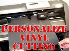 PERSONALIZE VINYL CUTTING Service YOUR DESIGNS FOR T-SHIRTS & HOODIES (Logos)