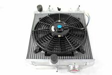 96-00 Honda Civic EK EM Automatic 2 Row Full Aluminum Radiator+Fan AUTO AT 2/3/4