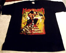 MANOWAR AGONY & ECSTACY-1992 Vintage T-shirt ***Metallica Motorhead KISS Bathory