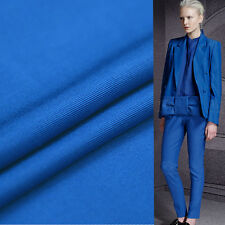 """Pure blue silk and cotton fabric silk rib fabric 35momme 45"""" width,SCT239"""