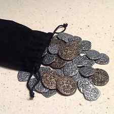 60 Doubloons for Puerto Rico Board Game Treasure Coins Pirate Coins Viking Coins