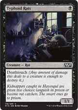 MTG TYPHOID RATS FOIL - RATTI DEL TIFO - M15 - MAGIC