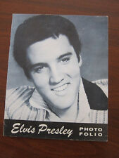 ELVIS PRESLEY Concert Program 1957