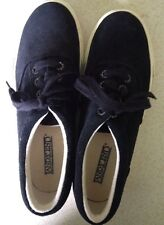 Lands' End Suede Mens Sneakers/deck/boat shoes