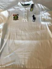 New Polo Ralph Lauren Big and Tall Polo Shirt MARINE SUPPLY White 3XB 3XL 3X