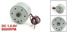 RC300-FT-08800 DC 1.5-9V 6000RPM Micro Motor w 2-Wires - UK Seller