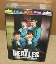 The Beatles - A LONG AND WINDING ROAD (DVD, 2003, 5-Disc Set) SEALED