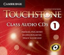 TOUCHSTONE LEVEL 1 CLASS AUDIO CDS (4) 2ND EDITION by McCarthyMichael (2014,...