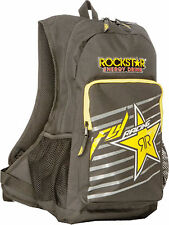 NEW FLY RACING ROCKSTAR ENERGY JUMP BACKPACK BACK PACK 18X14X6 SCHOOL BAG ADULT
