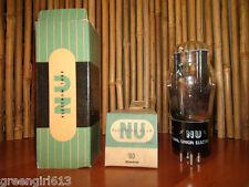Vintage NU #80 Vacuum Tube Results =  59/57
