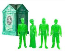 UNIVERSAL MONSTERS HAUNTED CRYPT GID GREEN REACTION FIGURE SET NYCC 2015 FUNKO