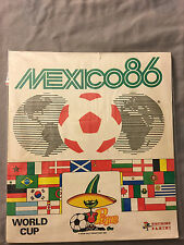 PANINI MEXICO 86  WORLD CUP 1986 COMPLETE ALBUM RARE ORIGINAL