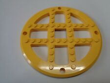 LEGO Fabuland Plate Round 13 2/3 Stud Diameter Merry-Go-Round Base yellow (4750)