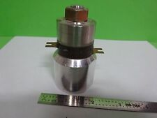 LANGEVIN ULTRASONIC PIEZOELECTRIC ACTUATOR ASSEMBLY AS IS BIN#Y5-11
